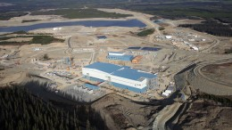 The Mount Milligan copper-gold mine 90 miles northwest of Prince George in central B.C. Credit: Centerra Gold.