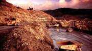 Newmont Mining's 48.5%-owned Batu Hijau copper-gold mine on Sumbawa island in Indonesia. Credit: Newmont Mining