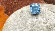 A blue diamond from the Cullinan mine