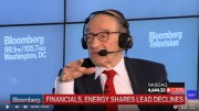 "On June 27, 2016, former Federal Reserve Chairman Alan Greenspan discusses fallout the U.K.'s Brexit referendum, U.S. economic growth, wage and economic stagnation, central banks, low productivity, and his call for inflation in the U.S. economy. He speaks with Bloomberg's Michael McKee and Tom Keene on ""Bloomberg GO."" YouTube screenshot."