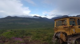 A view from Rockhaven Resources' Klaza polymetallic project 50 km west of Carmacks, Yukon. Photo by Matthew Keevil