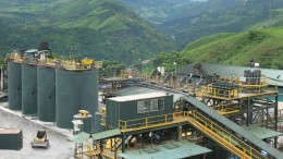 The processing plant at Dynasty Metals & Mining's Zaruma gold mine in southern Ecuador. Credit: Dynasty Metals & Mining.