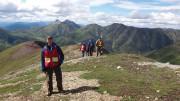 Atac Resources president and CEO Graham Downs at the Rackla gold property in the central Yukon.  Credit: Atac Resources.