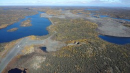 Nighthawk Gold's Colomac gold deposit in the Northwest Territories. Credit: Nighthawk Gold.