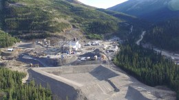 Processing facilities at JDS Silver's Silvertip silver-lead-zinc mine in northern B.C. Credit: JDS Silver.