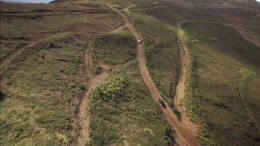 Unpaved roads at Western Copper and Gold's Casino copper-gold project in the Yukon. Credit: Yukon Mining Alliance.