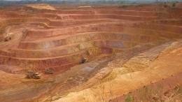 A pit at Endeavour Mining's Ity gold mine in Côte d'Ivoire. Credit: Endeavour Mining.