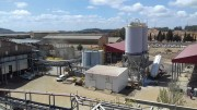 Processing facilities at Atalaya Mining's Proyecto Riotinto copper mine in Spain's Andalucia region, 65 km northwest of Seville. Credit: Atalaya Mining.