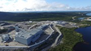 Overview of Stornoway Diamond's new Renard diamond mine in Quebec. Credit: Stornoway Diamond.