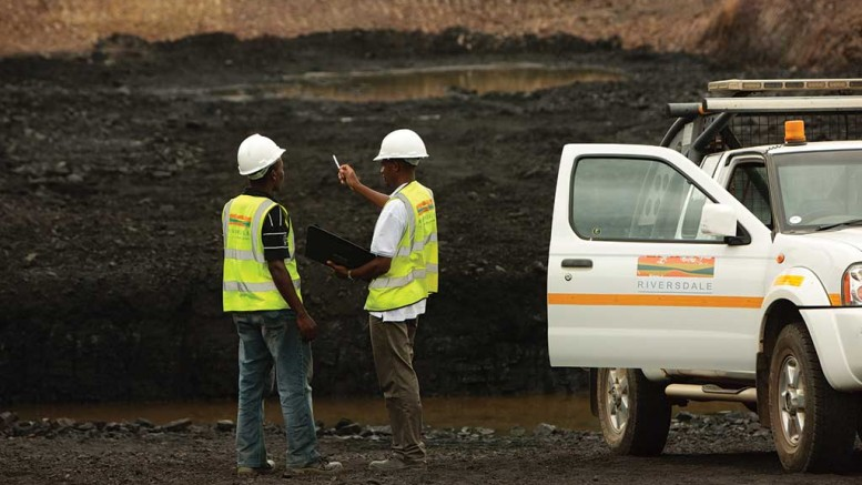 Workers at Riversdale Mining's Benga coal project in Mozambique in 2011, before Rio Tinto bought the company for $3.7 billion. Credit: Riversdale Mining