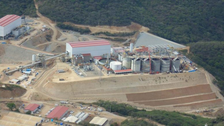 Torex Gold's El Limon project entered commercial production in March 2016. Credit: Torex Gold.