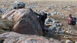 Geologists exploring Auryn Resources' Committee Bay gold project in Nunavut. Credit: Auryn Resources.