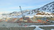 Mine construction activities at Pretium Resources' Brucejack gold project in B.C. in early 2016. Credit: Pretium Resources.