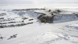 De Beers and Mountain Province Diamonds' Gahcho Kué diamond mine in the Northwest Territories in 2015. Credit: Mountain Province Diamonds.
