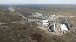 The portal entrance at Agnico Eagle Mines' Meliadine gold project in Nunavut in August 2016. Credit: Agnico Eagle Mines.