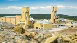 Cameco's Cigar Lake uranium mine in northern Saskatchewan. Credit: Cameco.