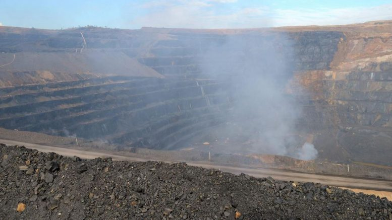 MMG's Century -- Australia's largest open-pit zinc mine -- was closed in October 2015. Credit: MMG.