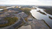 Nighthawk Gold's Colomac gold project in the Northwest Territories, 200 km north of Yellowknife. Credit: Nighthawk Gold.