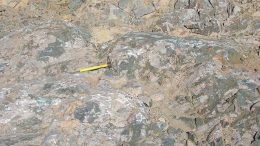 An outcrop at Iamgold's Côté gold property in Ontario. Credit: Iamgold.