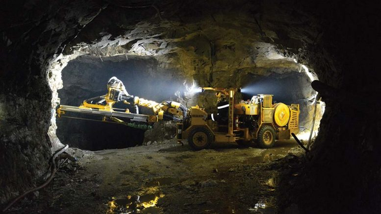 The runner-up photo in PwC's Art of Mining competition showing modernization at Gran Colombia Gold's Segovia gold mine in Antioquia, Colombia. Credit: Gran Colombia Gold.
