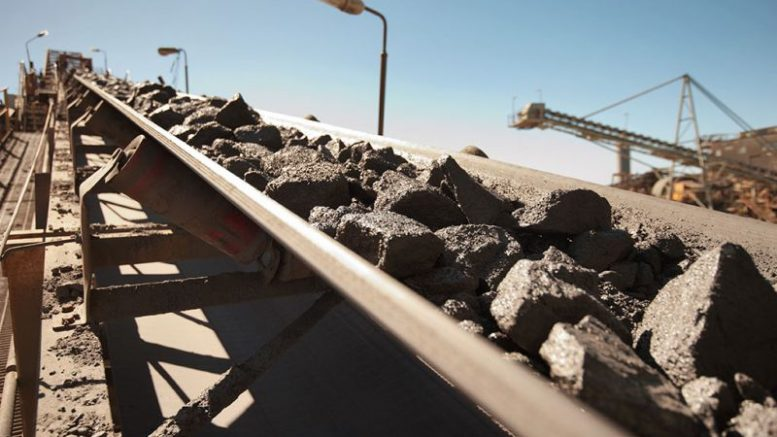 A conveyor belt transports ore at CBH Resources' Endeavour mine in Australia. Credit: CBH Resources.