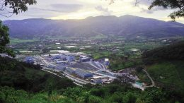 Tahoe Resources' Escobal silver mine in Guatemala in 2015. Credit: Tahoe Resources.