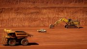 Iron ore mining by Rio Tinto in Australia's Pilbara region. Credit: WSJ.