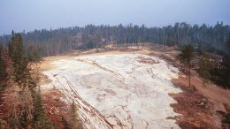 The Big Whopper petalite deposit at Avalon Advanced Materials' Separation Rapids lithium project north of Kenora, Ontario. Credit: Avalon Advanced Materials.