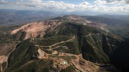 Leagold's Los Filos gold mine in Guerrero state, 230 km south of Mexico City. Credit: Leagold Mining.