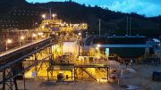 The milling circuit at Red Eagle Mining's 1,200tpd San Ramon operation 70 km from Medellin, Colombia.