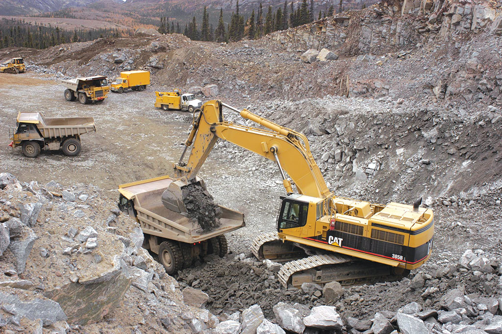 Past activity at the quarry at Vale's Voisey's Bay. Joint-venture partners Fjordland Exploration and Commander Resources hope to use data on the mega project to help new nickel-copper-cobalt drilling in Labrador. Credit: Vale.
