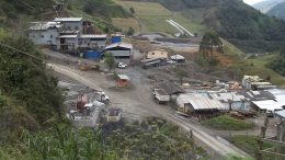 Atico Mining's El Roble copper-gold-silver mine southwest of Medellin, Colombia. Credit: Atico Mining.