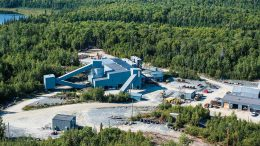 Richmont Mines' Island Gold mine, 83 km northeast of Wawa, Ontario. Credit: Richmont Mines.