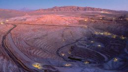 BHP Billiton's Escondida copper mine in Chile. Credit: BHP Billiton.
