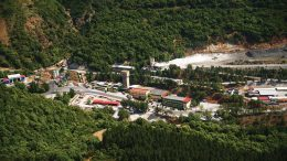 Eldorado Gold's Stratoni silver-lead-zinc mine on the Halkidiki peninsula in Northern Greece. Credit: Eldorado Gold.