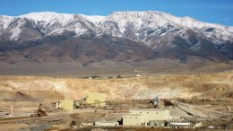 Kinross Gold's 50%-owned Round Mountain gold mine in Nye County, Nevada. Credit: Kinross Gold.
