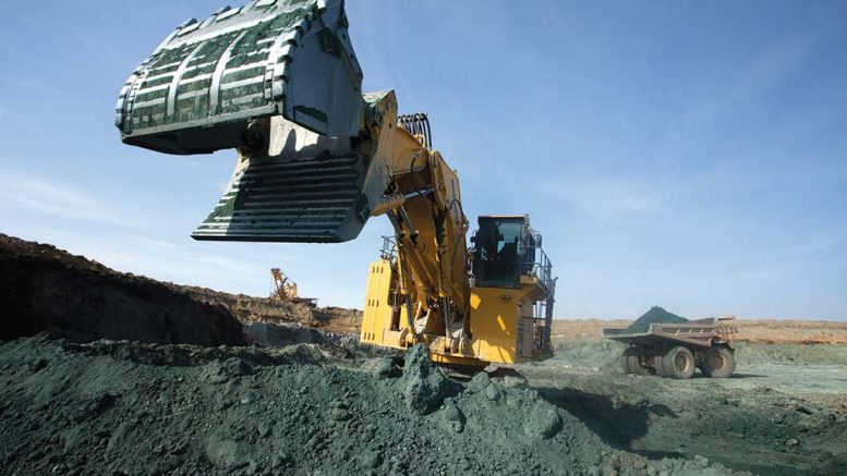 Equipment in the pit at Polymetal's Varvara gold mine in northwest Kazakhstan. Credit: Polymetal.