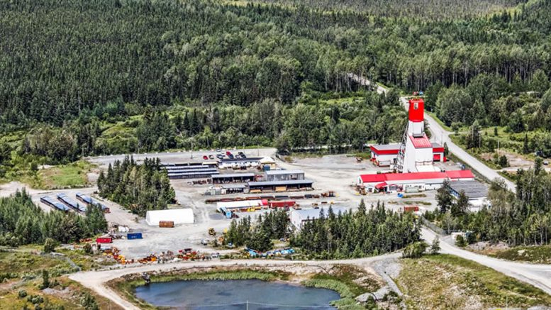 Monarques Gold's Beaufor mine, 20 km northeast of Val-d'Or, Quebec. Credit: Monarques Gold.