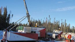 Drillers at Foran Mining's McIlvenna Bay copper-zinc deposit in east-central Saskatchewan. Credit: Foran Mining.