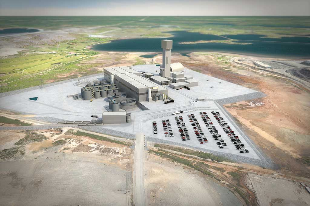 A rendering of Falco Resources' planned Horne 5 gold mine in Rouyn-Noranda, Quebec. Credit: Falco Resources.