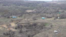 Black Iron's Shymanivske iron ore project in the Ukraine, 330 km southeast of Kiev. Credit: Black Iron.