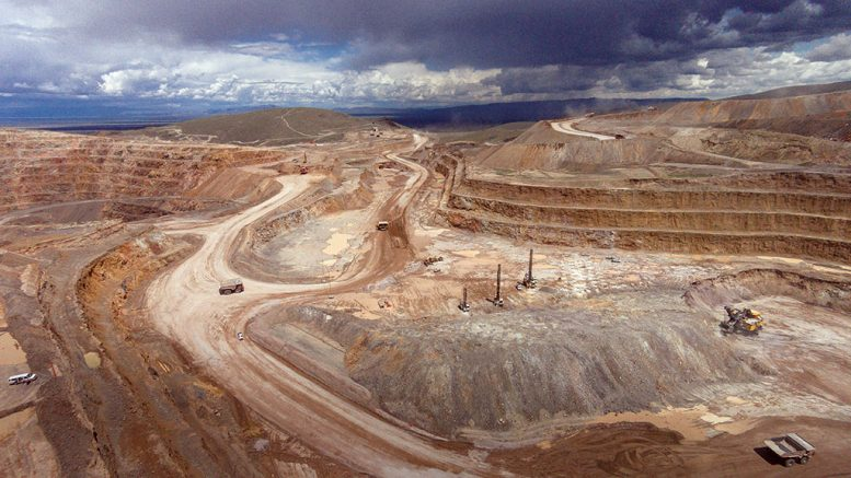Pit operations at SSR Mining's Marigold gold mine in Nevada. Credit: SSR Mining.