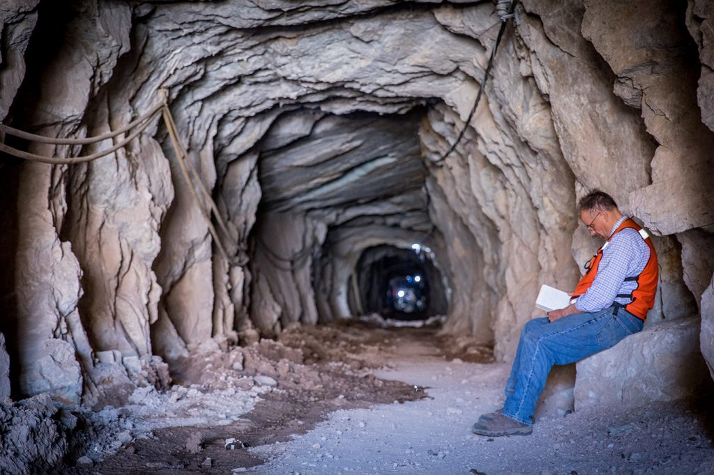 The historic underground workings at the Las Chipas site in Sonora, Mexico. Credit: SilverCrest Metals.