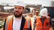 Dan Gertler at the Katanga copper mine in the Democratic Republic of the Congo in 2012 . Credit: Bloomberg.
