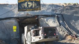 Entering a portal at Klondex Mines' Fire Creek gold mine in Nevada. Credit: Klondex Mines.