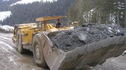 Staff at work on the J&L property near Revelstoke. Credit: Golden Dawn.