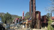 Drillers at NuLegacy Gold's Red Hill gold property in Nevada. Credit: NuLegacy Gold.