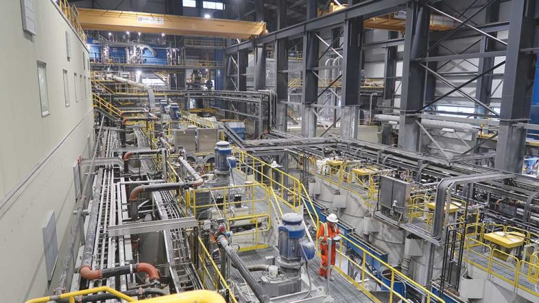 The processing plant at Pretium Resources' Brucejack gold mine in northwest British Columbia. Credit: Pretium Resources.