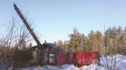A drill rig at First Cobalt's Greater Cobalt Project in Ontario. Credit: First Cobalt.