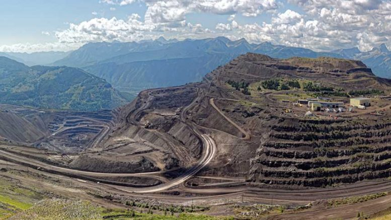 Teck's Elkview project in southeastern British Columbia. Credit: Teck Resources.